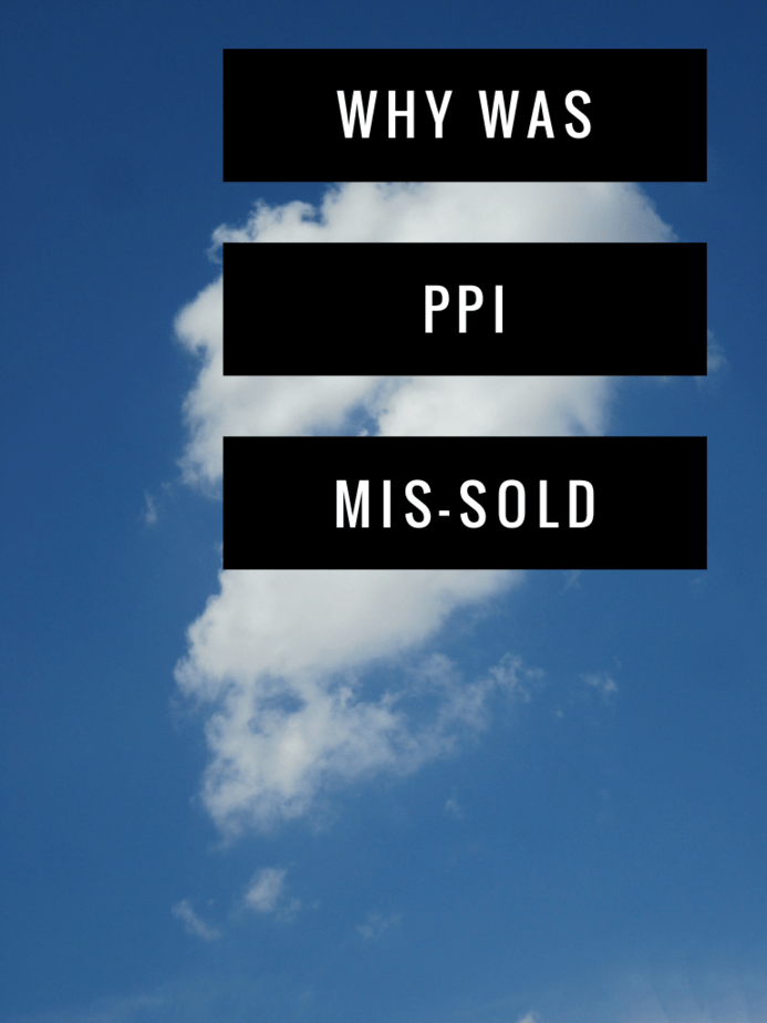 why was ppi mis-sold