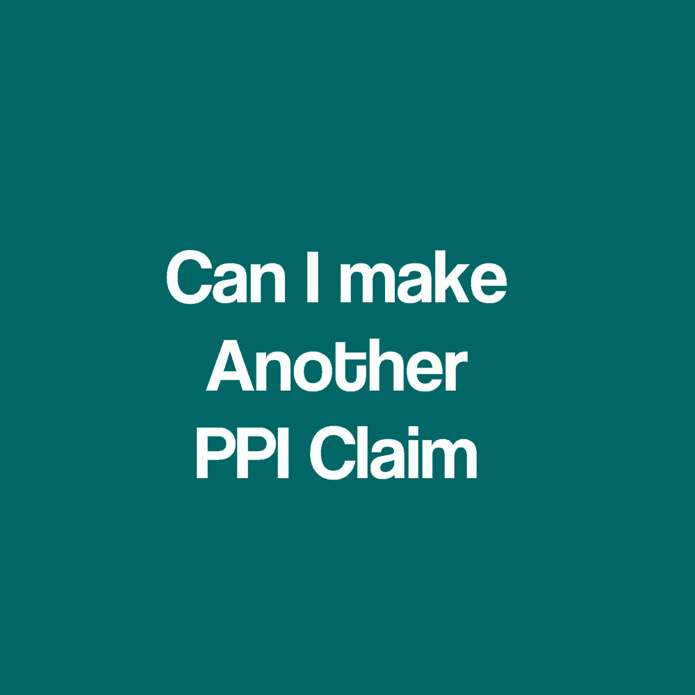 Ppi claims refund no original paperwork required i have already made a successful ppi claim can i make another claim against the same lender solutioingenieria Image collections