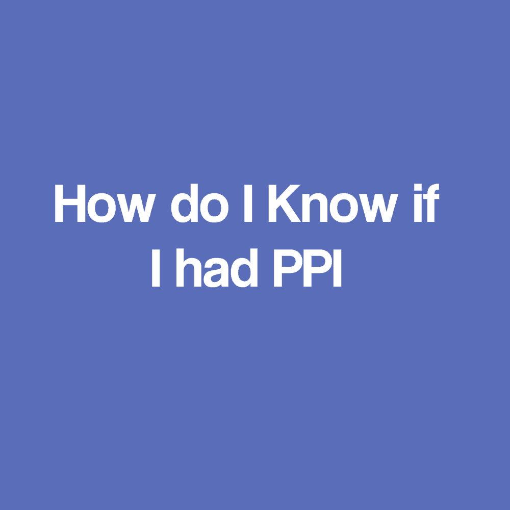 Ppi claims refund no original paperwork required how do i know if i had ppi solutioingenieria Gallery